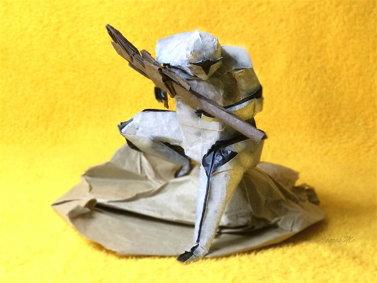 Actual Happy New Year and Jawa Instructions! | Star wars origami ... | 900x1200