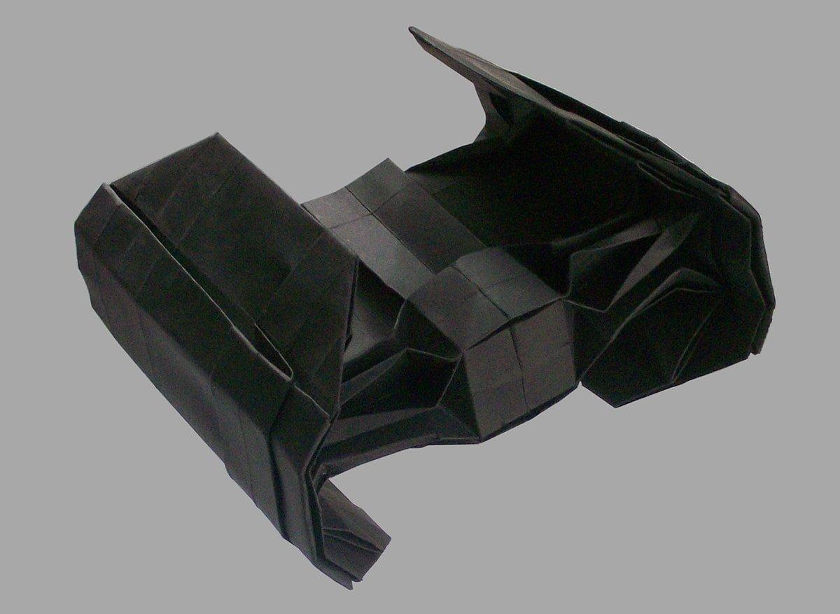 TIE Bomber Origami | Star wars origami, Origami stars, Useful origami | 877x1200