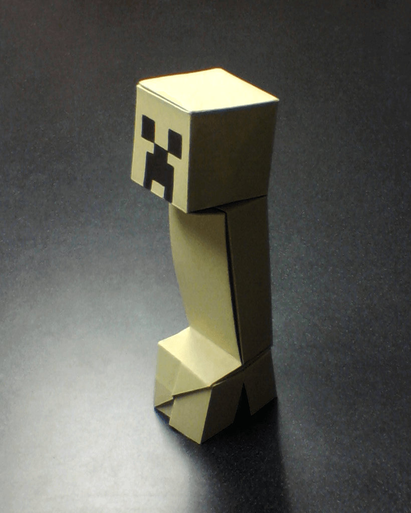 Cool Origami MINECRAFT Steve Character by Hare_ru - Origami easy ... | 1024x820