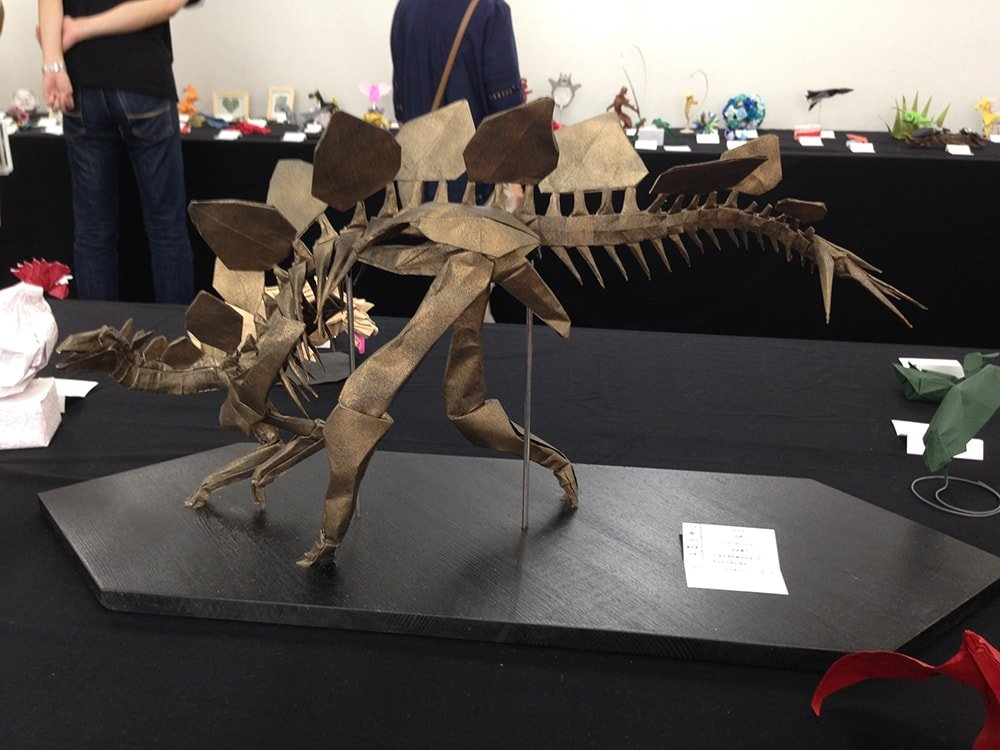 Stegosaurus Skeleton at Convention