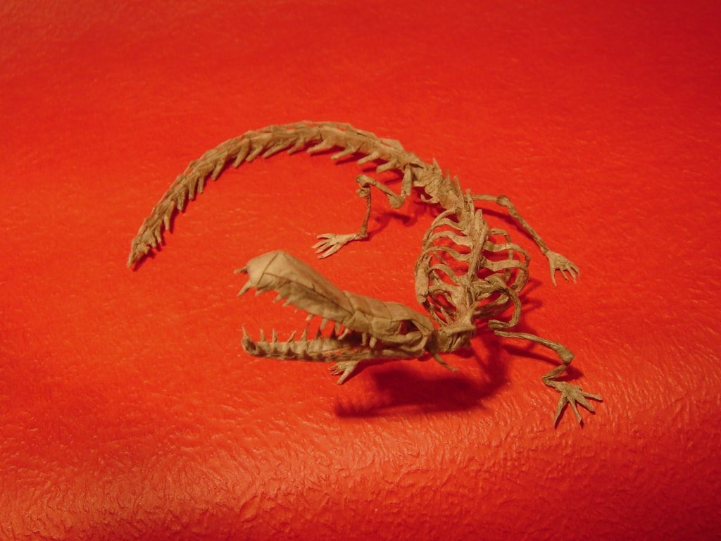 Sarcosuchus Skeleton
