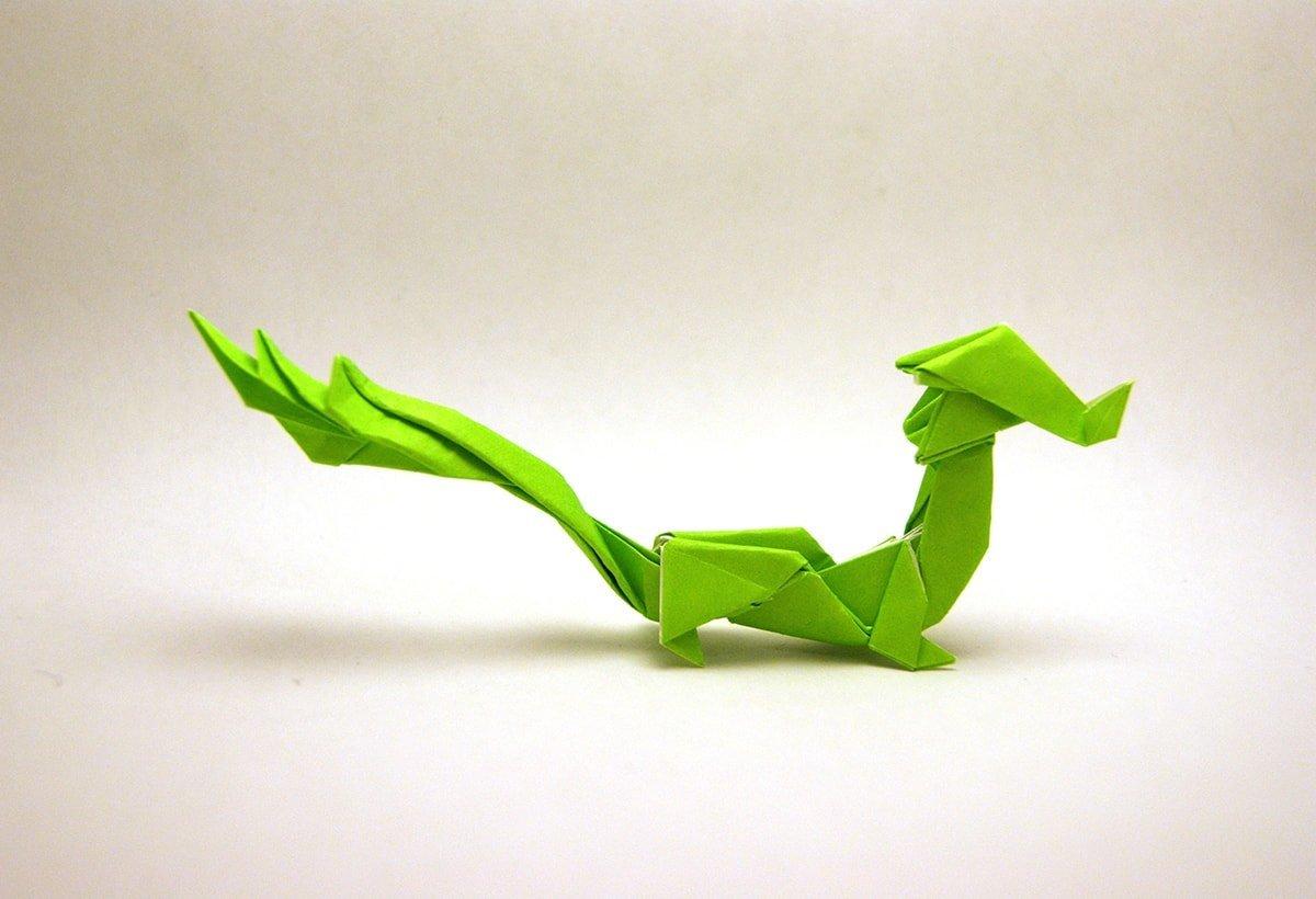 Simple Asian Dragon