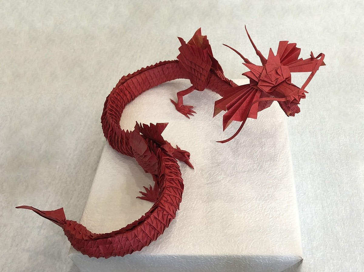 Big Red Dragon by MiKiller