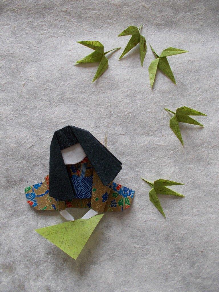 Folding Girl
