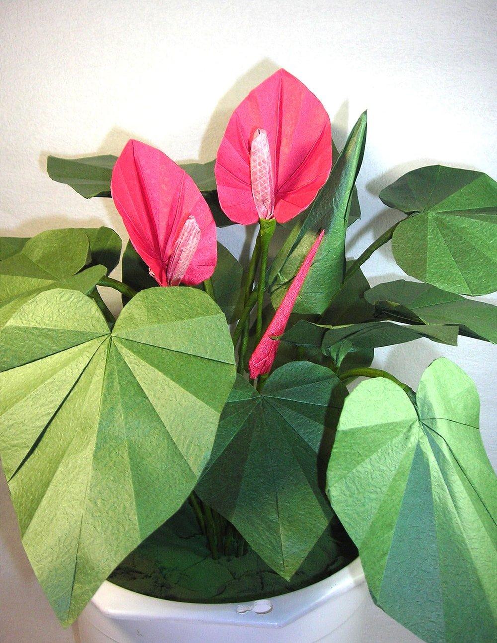 How to Make Beautiful Origami Kusudama Flowers | 1293x1000