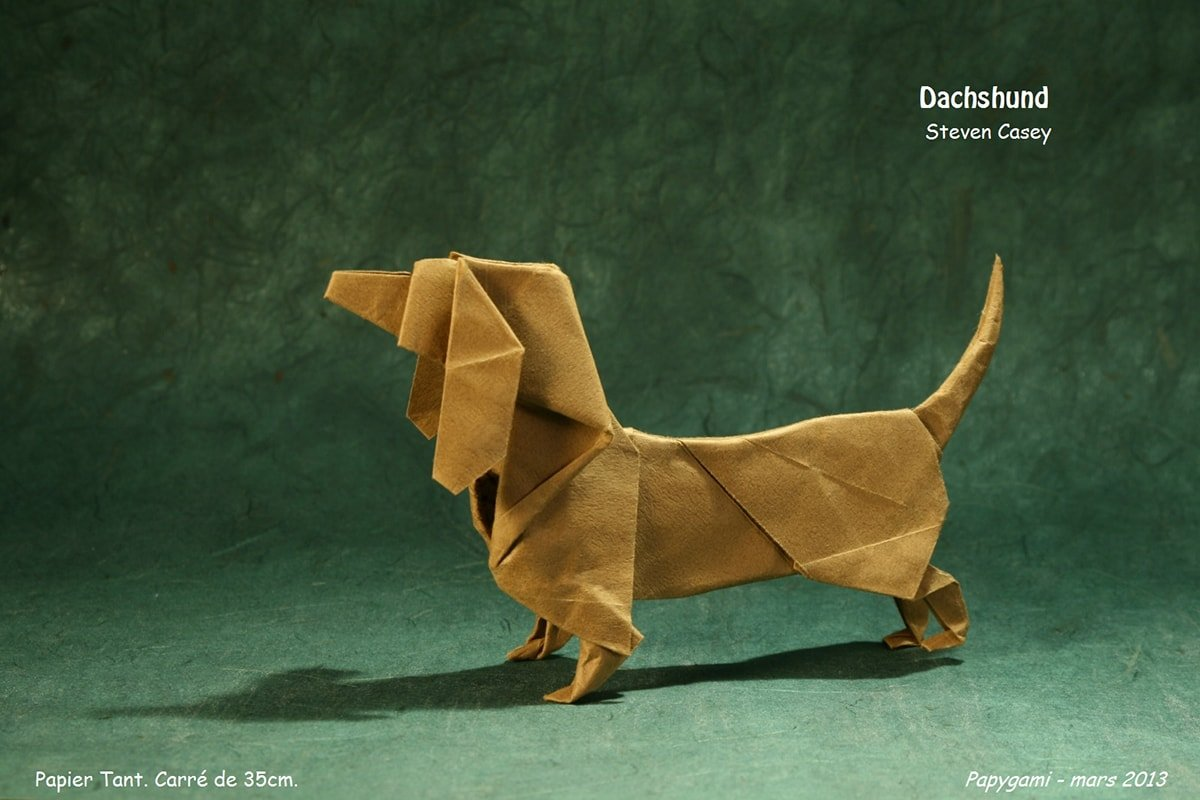 22 excellent origami models for dog lovers