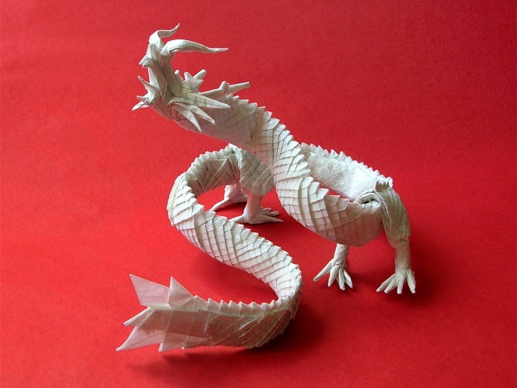 18 Incredible Eastern Style Origami Dragons | Origami.me - photo#12