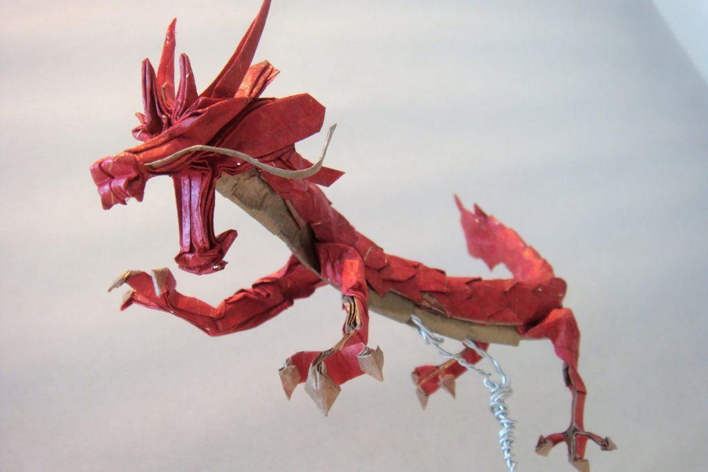 Origami Eastern Dragons
