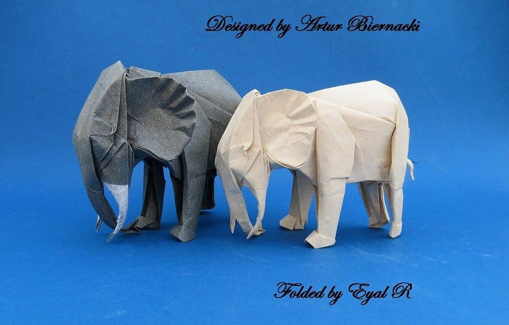 2 Paper Elephants