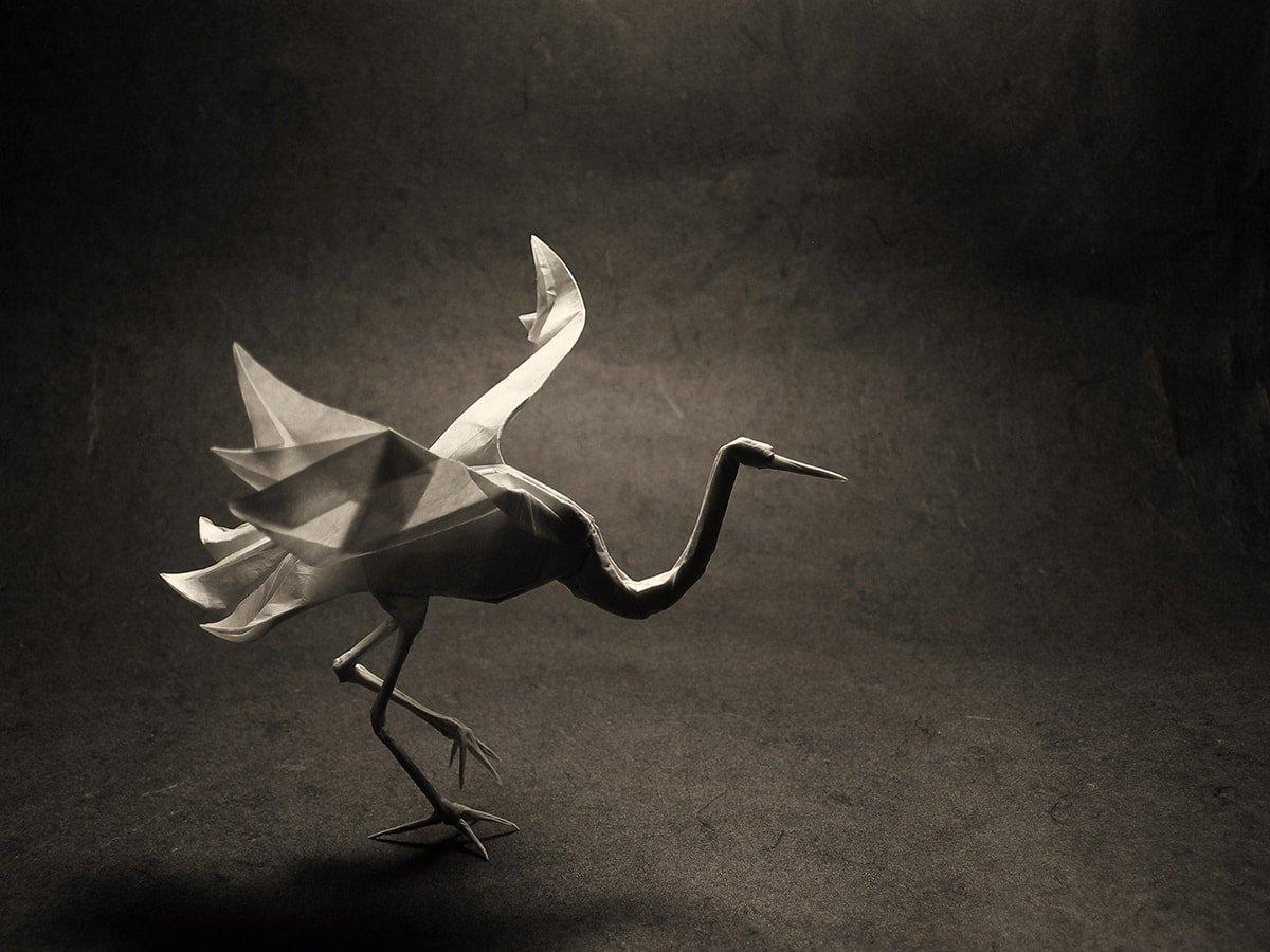 Origami Crane (Román Díaz) - YouTube | 900x1200