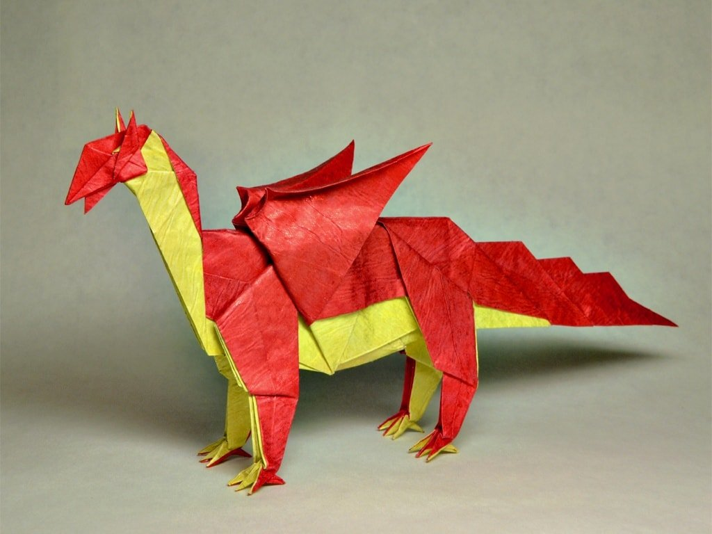 Red and Yellow Dragon