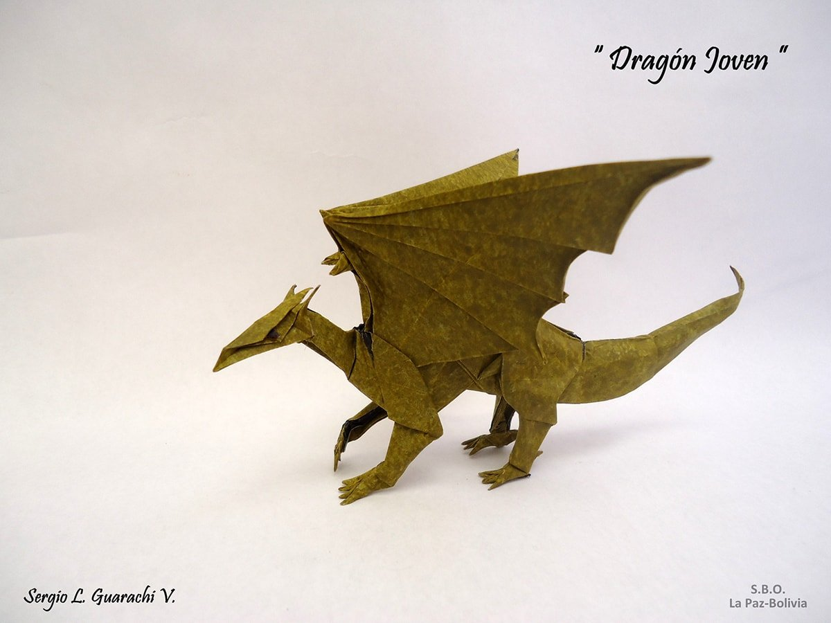 27 Spectacular Western-Style Origami Dragons - photo#37