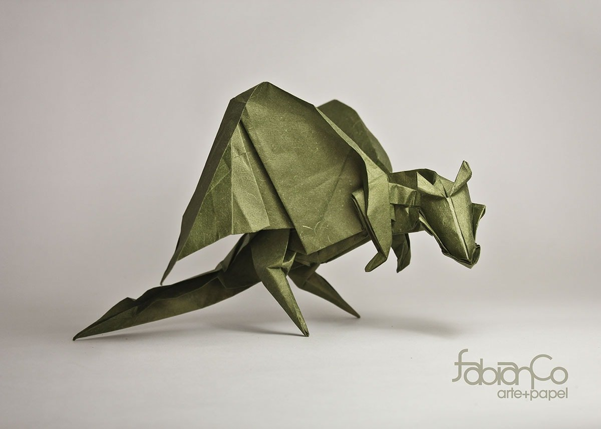 27 Spectacular Western-Style Origami Dragons - photo#25