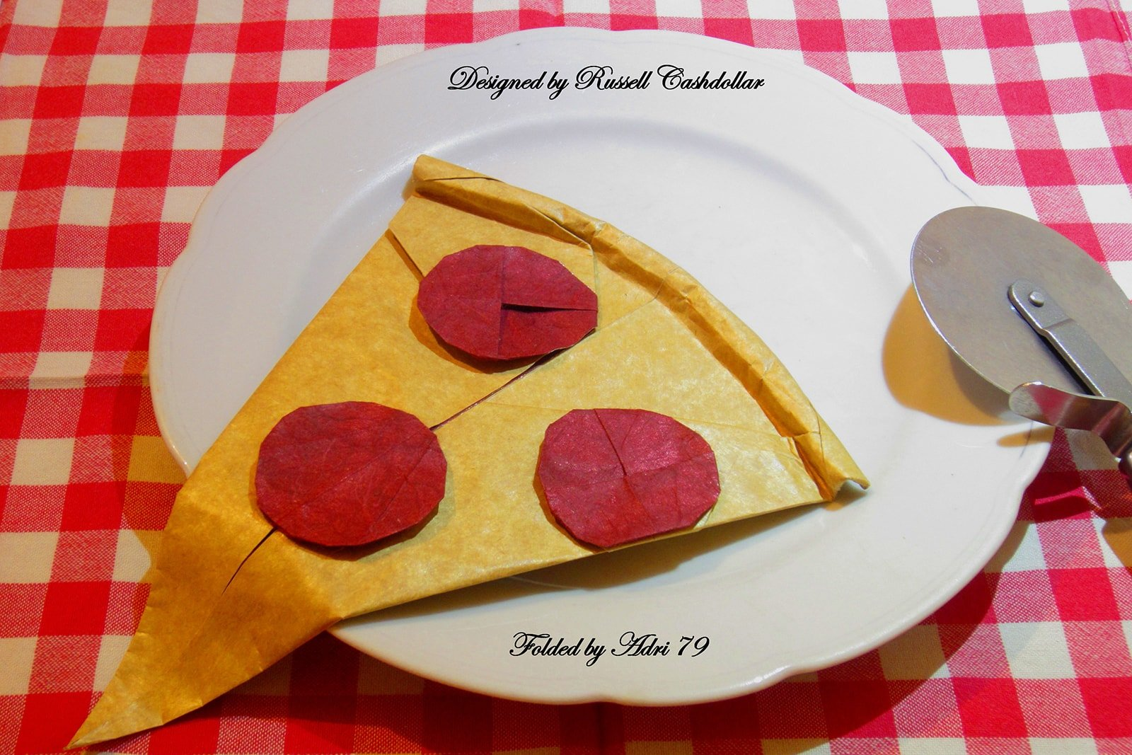 delicious looking origami food that you can almost taste