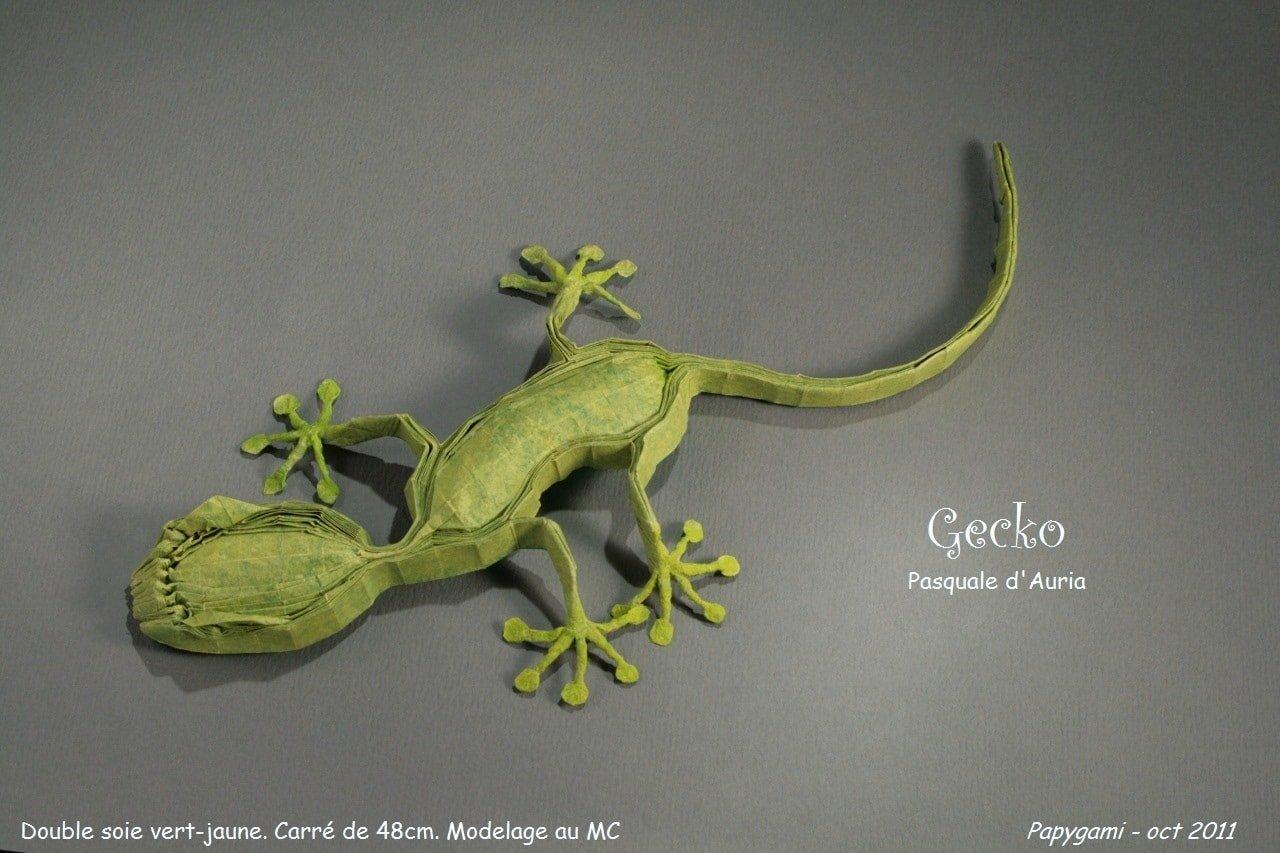 origami lizard ~ paper crafts origami for kids | 853x1280