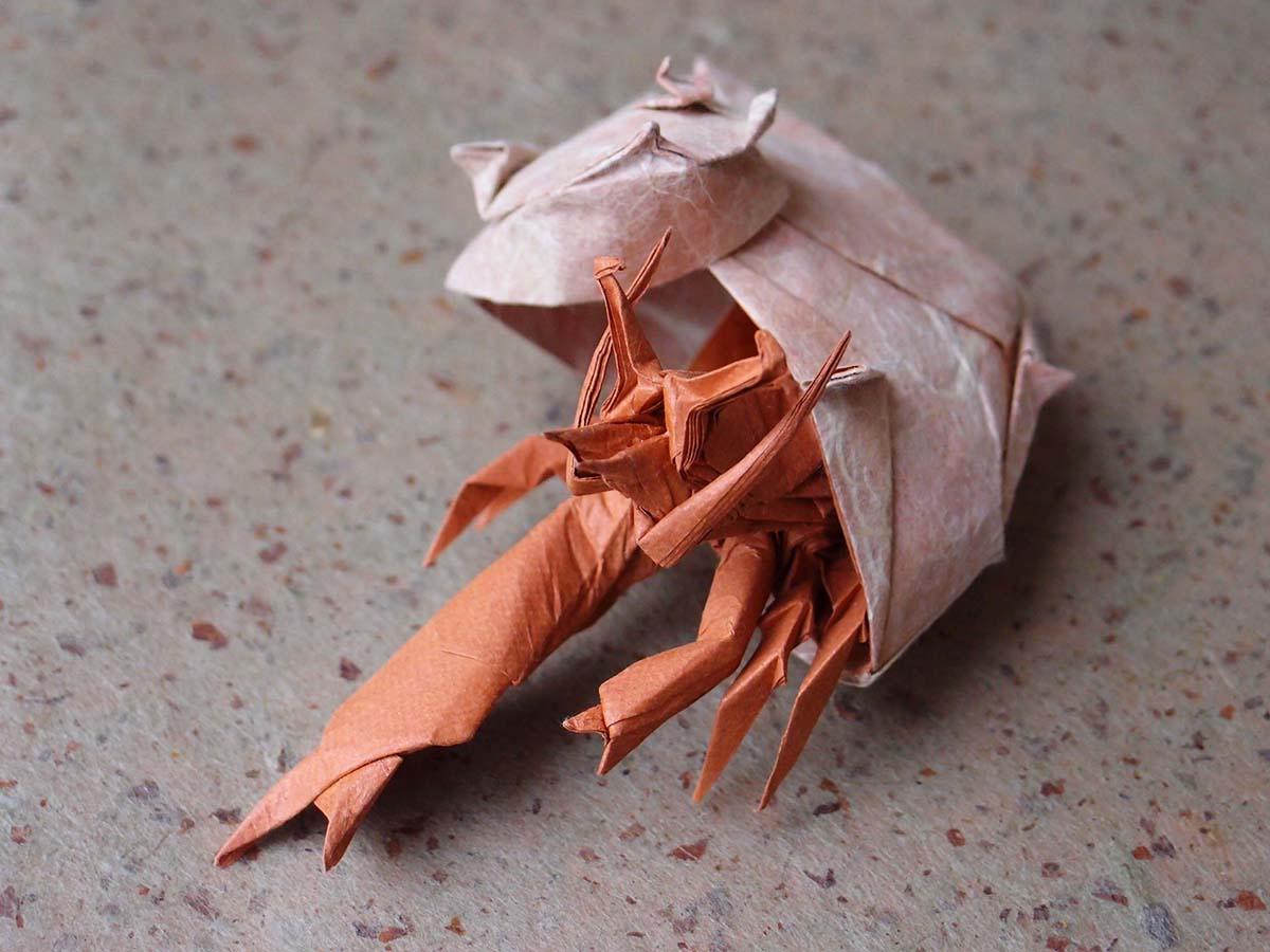 Paper Hermit Crab