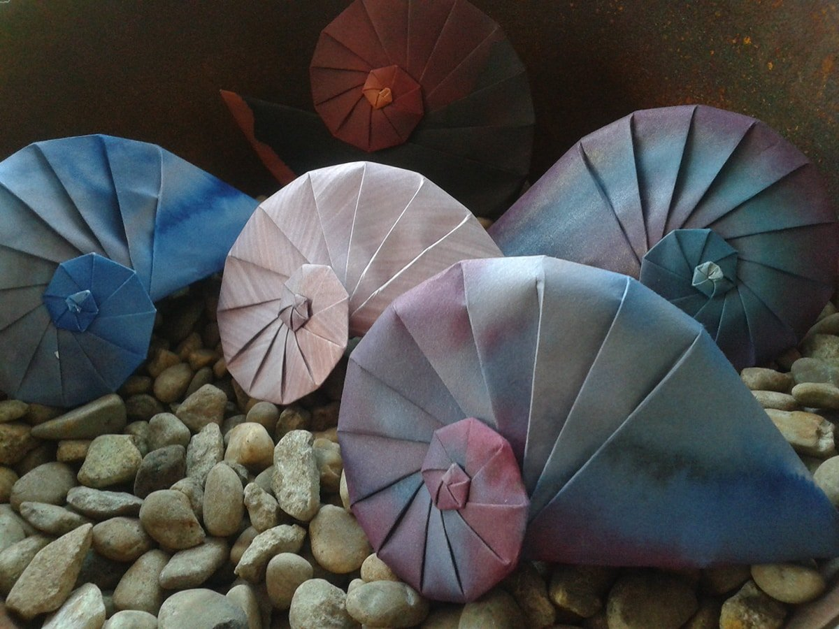 Can't Make it to the Beach? Try Folding these Origami Seashells! | 900x1200