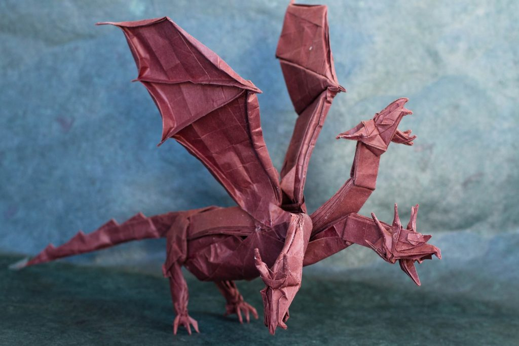 Origami Non-Traditional Dragons