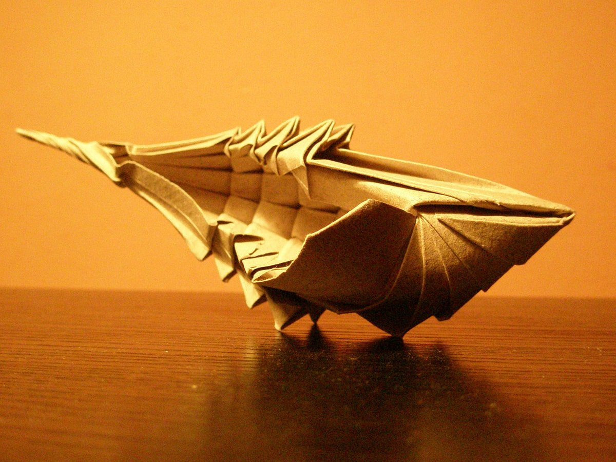 Paper Seashell
