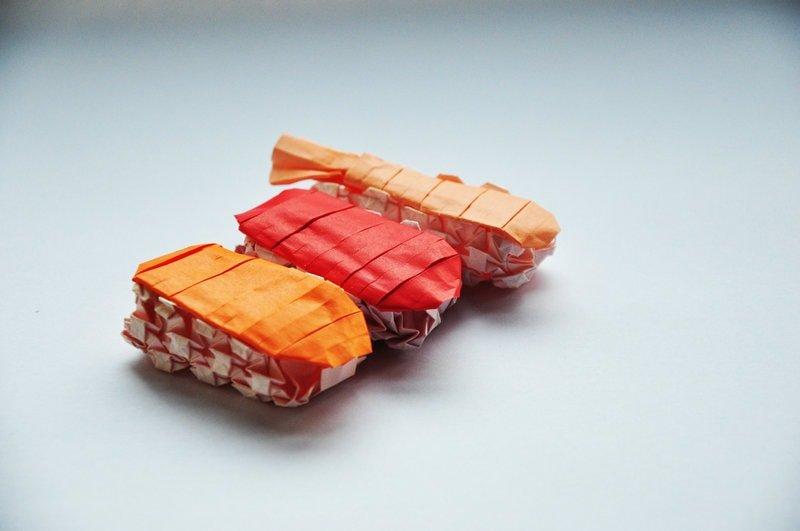 Paper Sushi