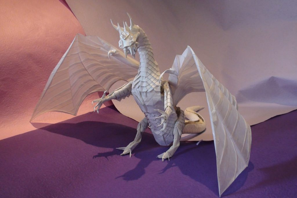 Origami Western Dragons