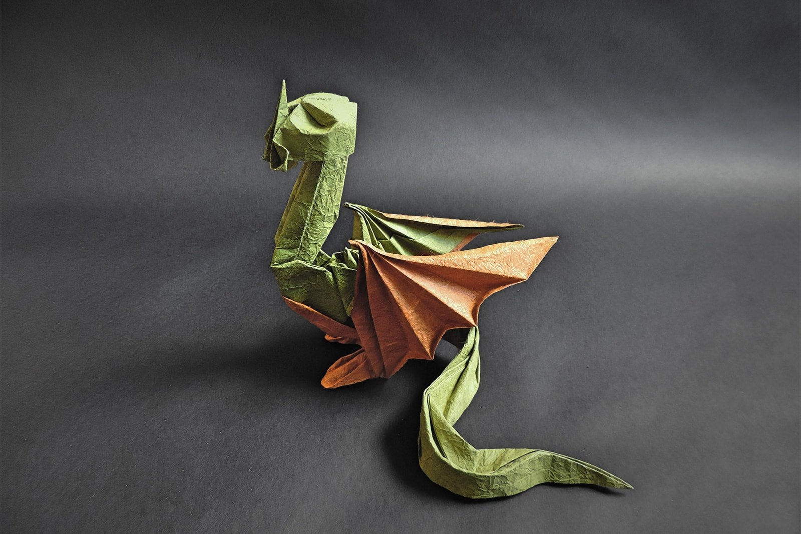 origami western dragon instructions