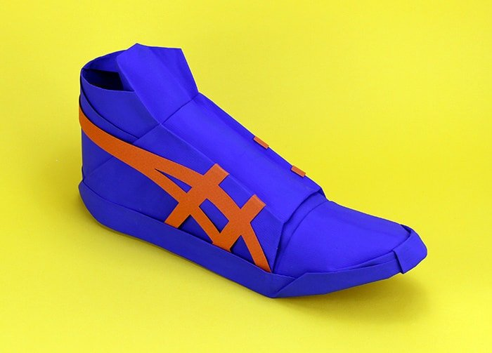 if you dont love these origami shoes then you probably