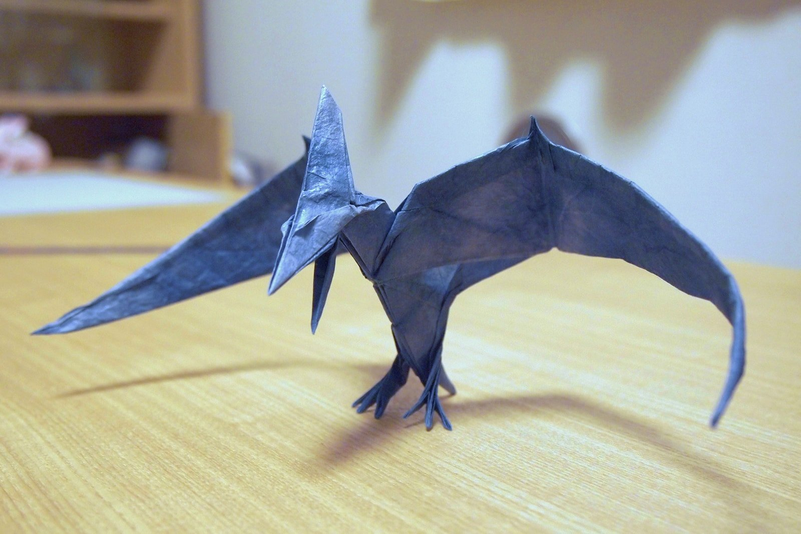 some of the best origami ive seen in 65 million years