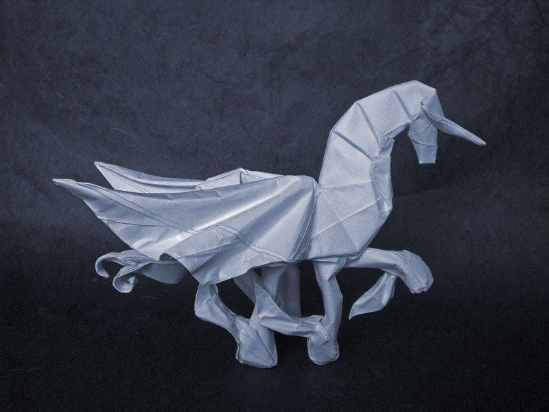Alicorn Folded by Alexander Kurth