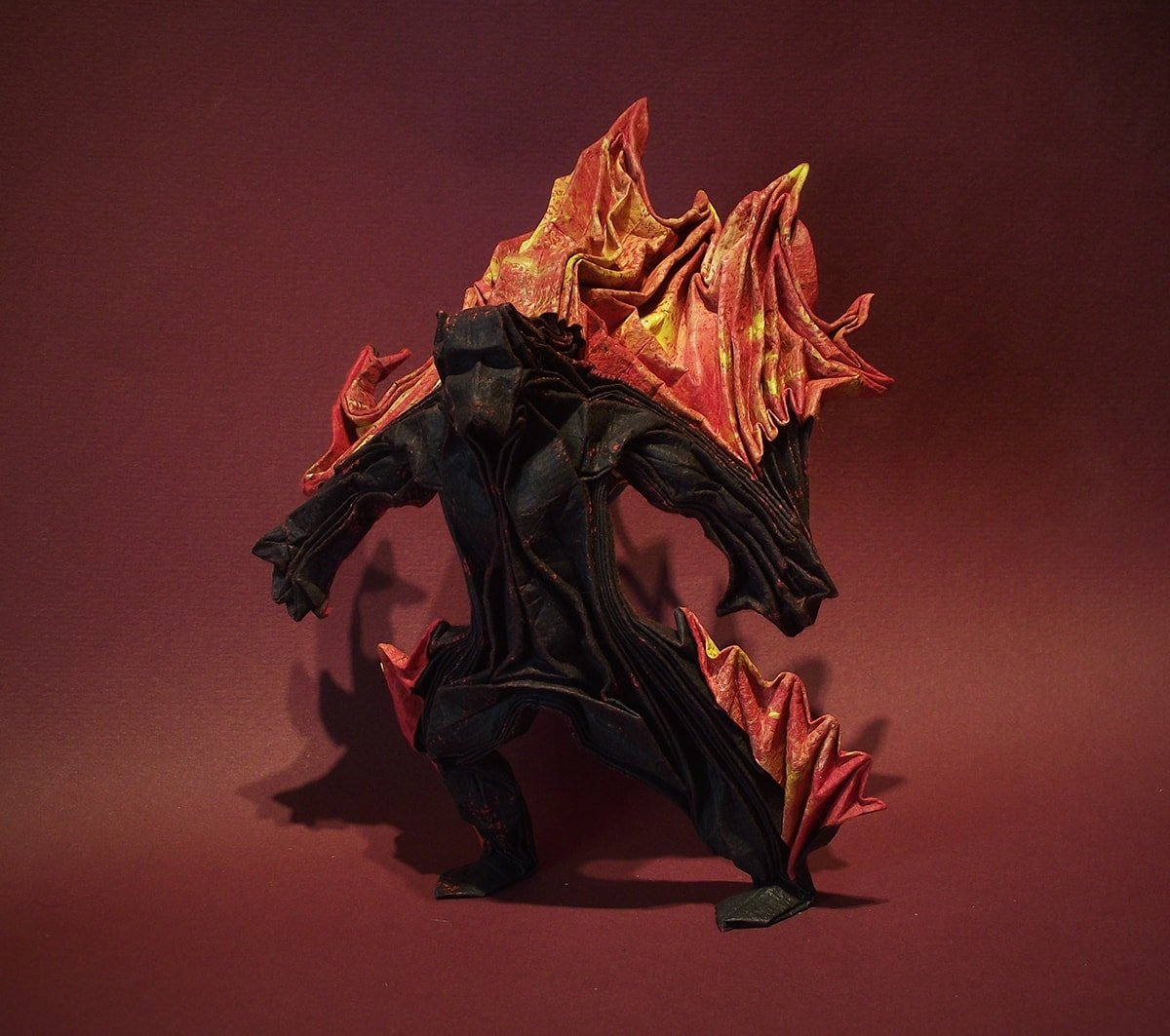 Balrog Designed and Folded by Edgar