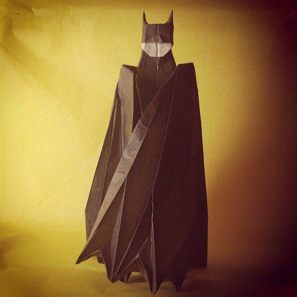 Paper Batman Folded by Matthew LaBoone