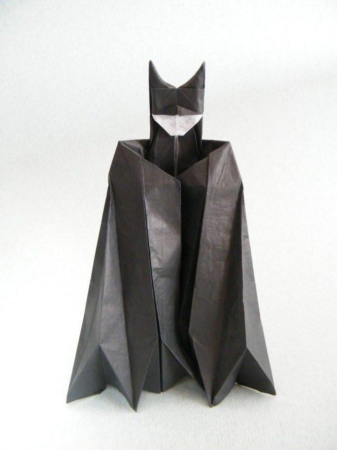Paper Batman Folded by Rui Roda