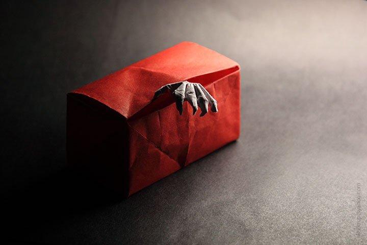 Box of Horror Papercraft