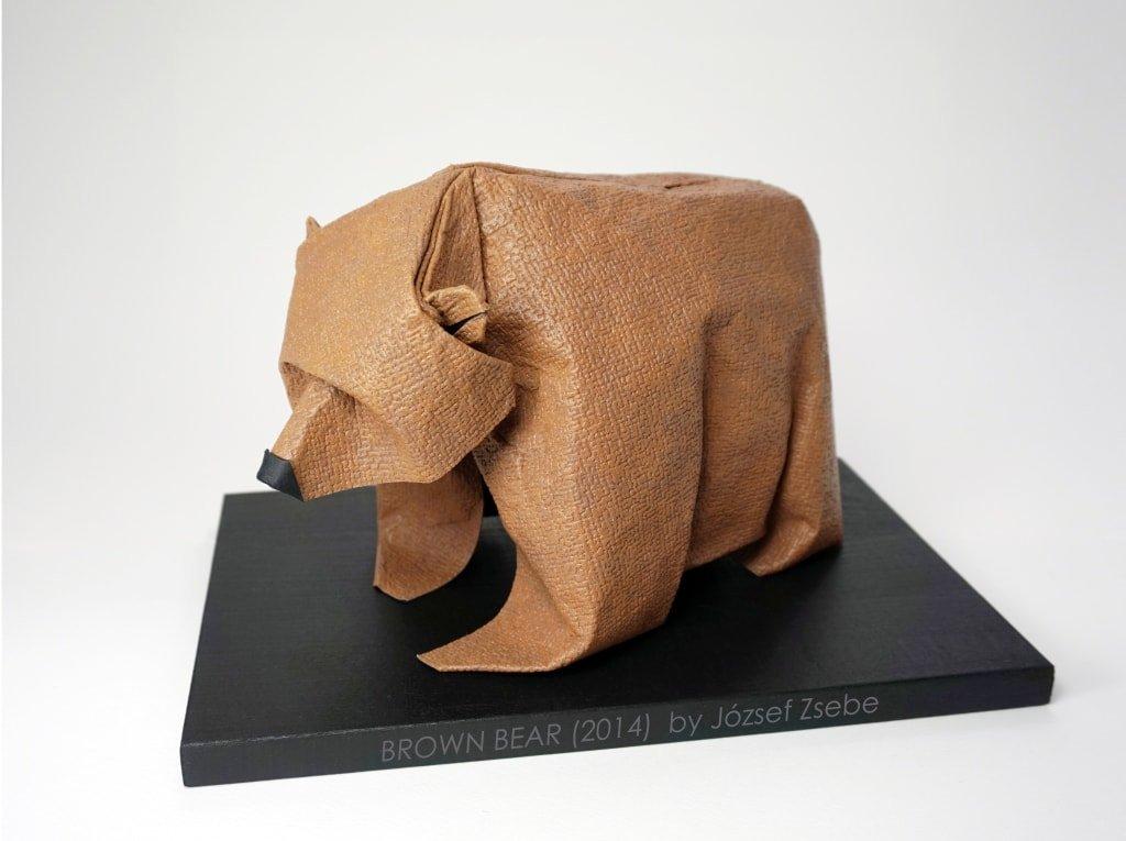 Brown Bear 2014 by Jozsef Zsebe