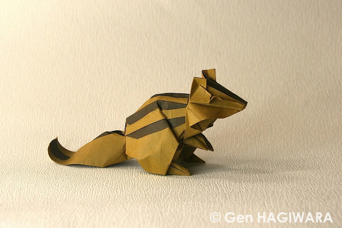 Chipmunk by Gen Hagiwara