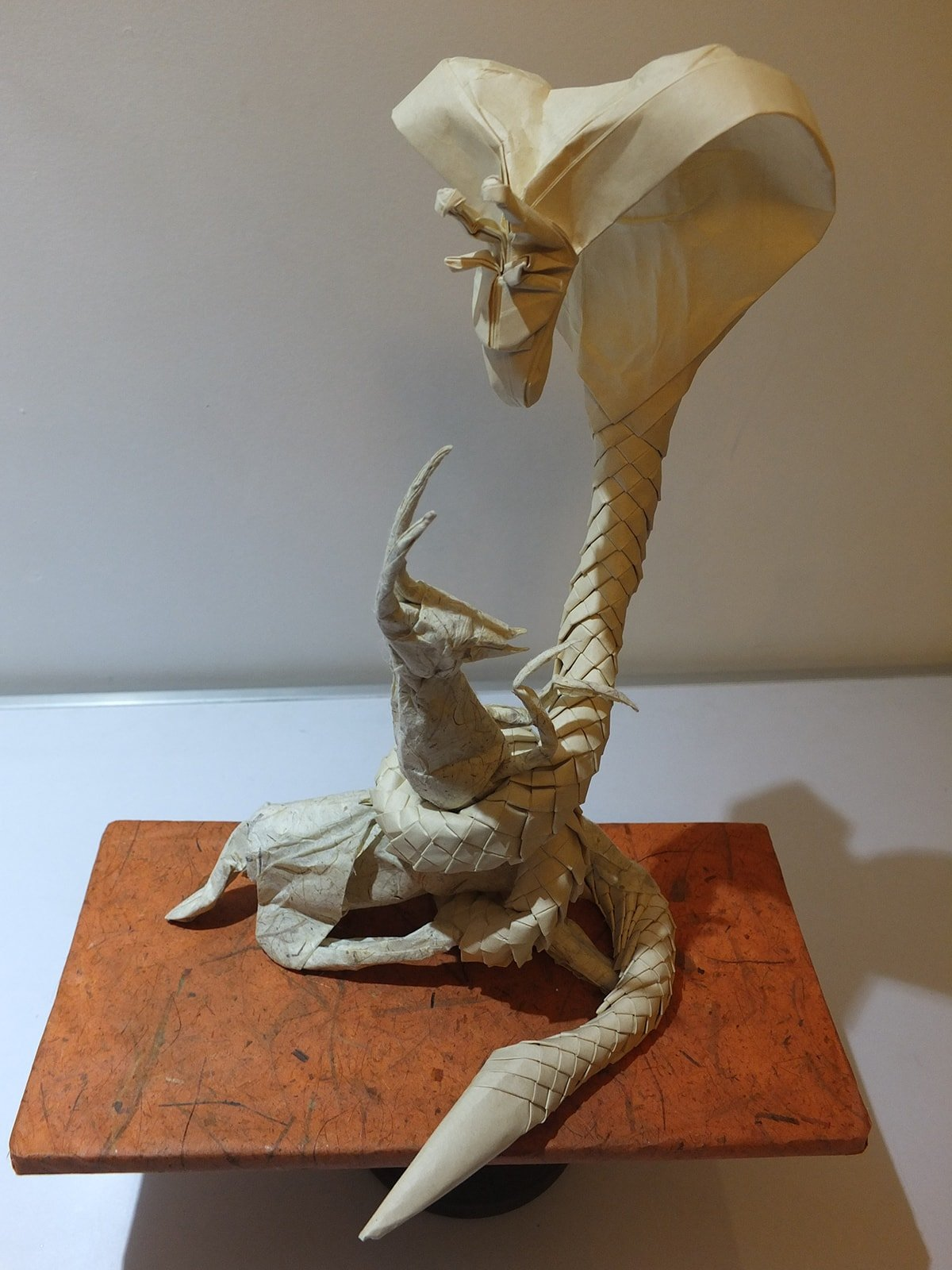 Cobrafe vs Hyenate Paper Sculpture by Eric Vigier
