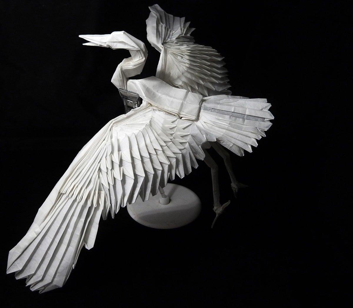 Incredibly Realistic Paper Crane