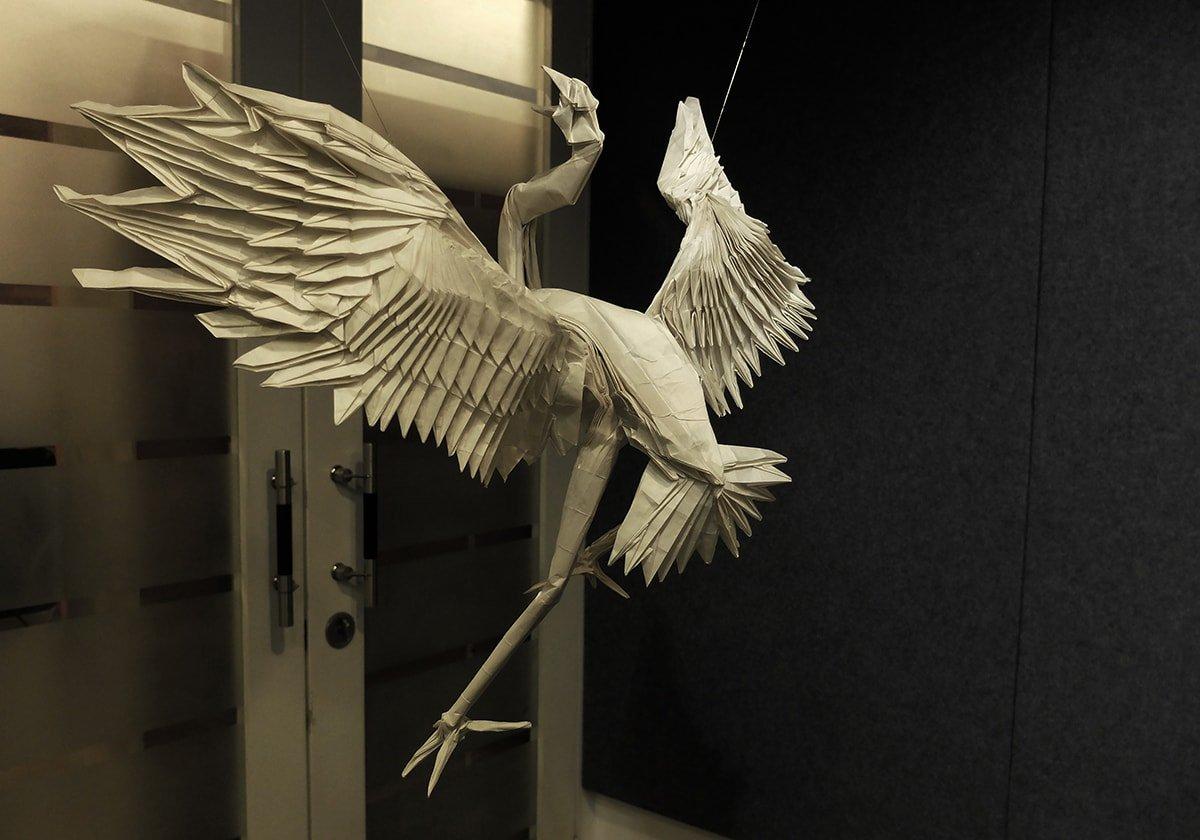Incredible Papercraft Crane