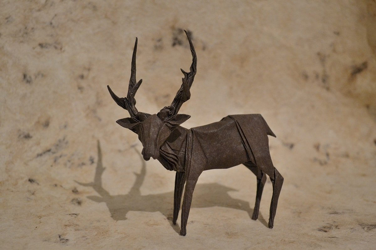 Deer Folded by Jack Dreyil