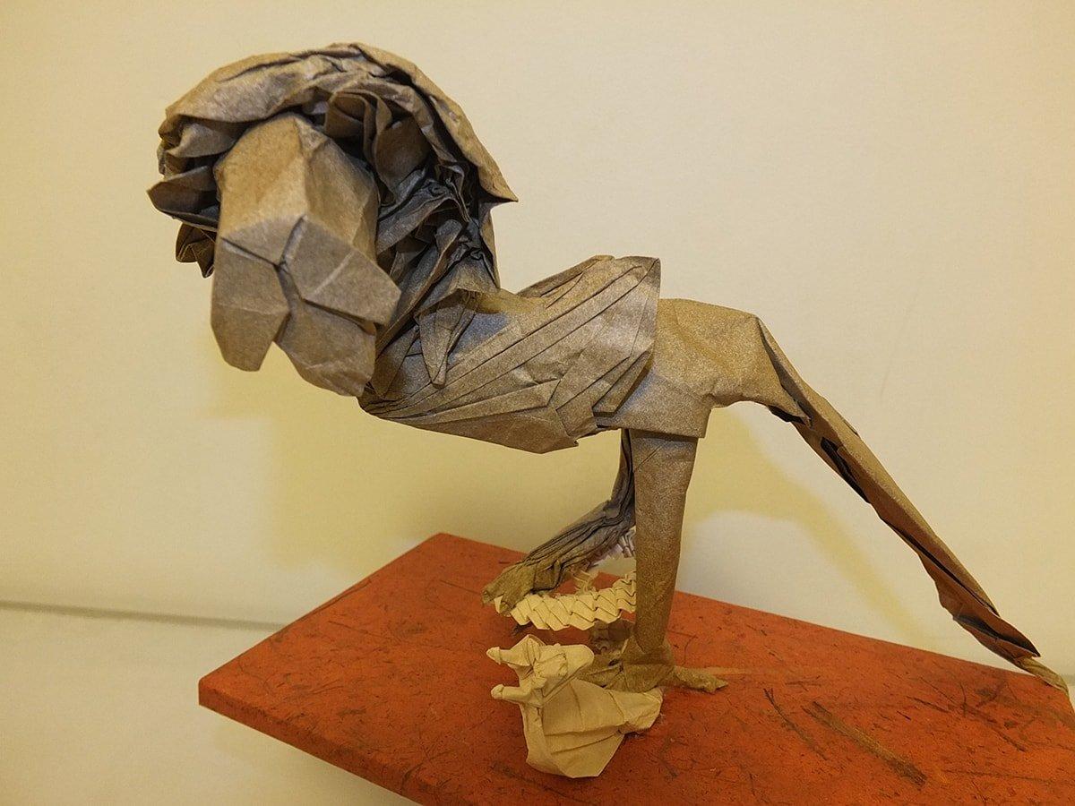 Diorama Roitelion by Eric Vigier