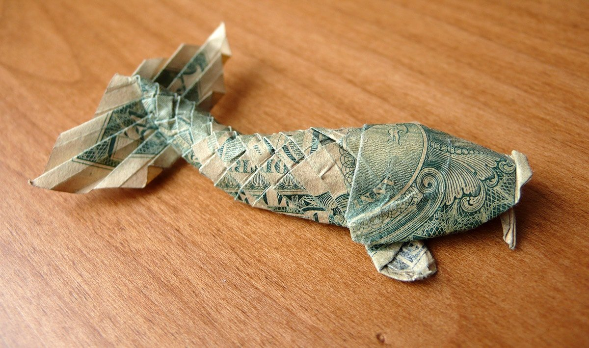 Won Park's Dollar Koi