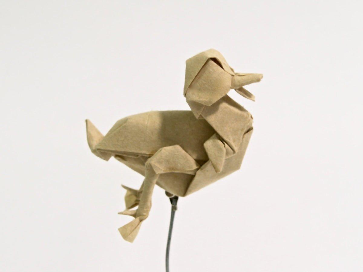Paper Duckling Folded by Seth Friedman