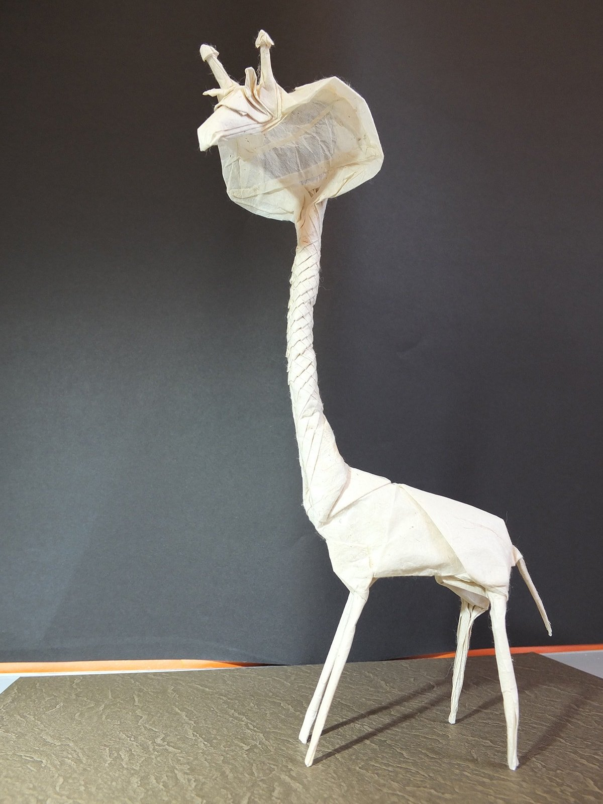 Paper Girabra, Designed and Folded by Eric Vigier