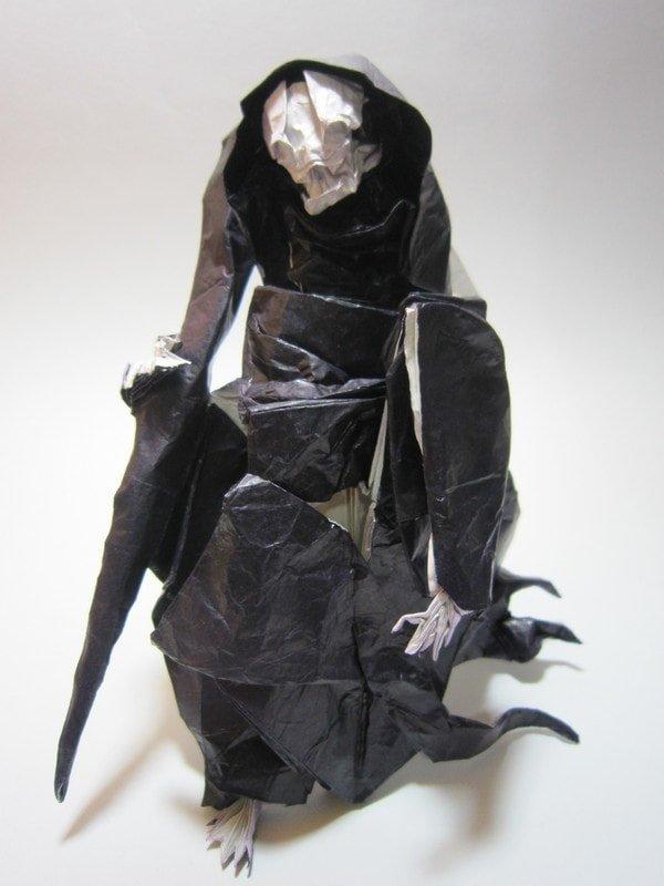 Origami Grim Reaper by Miyamoto Chuya
