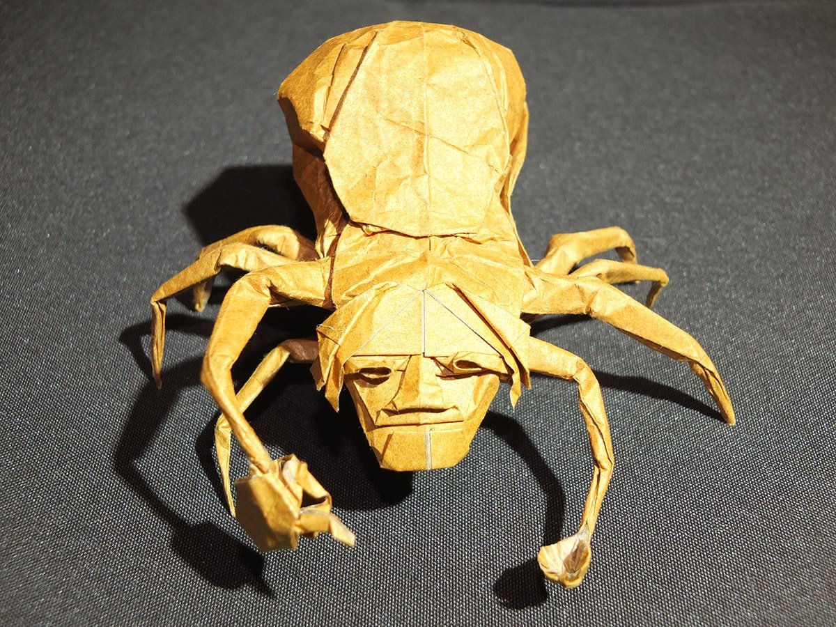 Hope Spider, Designed and Folded by Eric Vigier