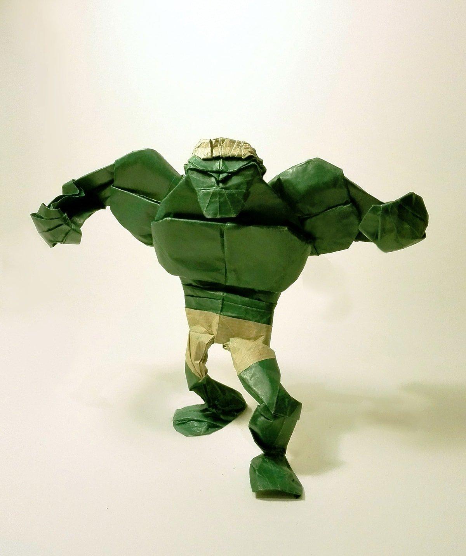 Paper Folded Hulk