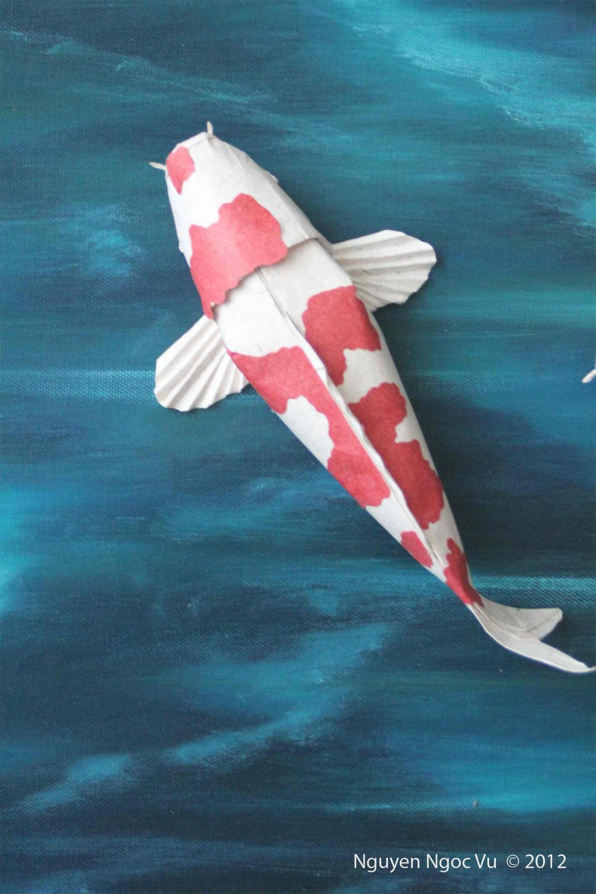 Koi Fish Folded by Nguyen Ngoc Vu