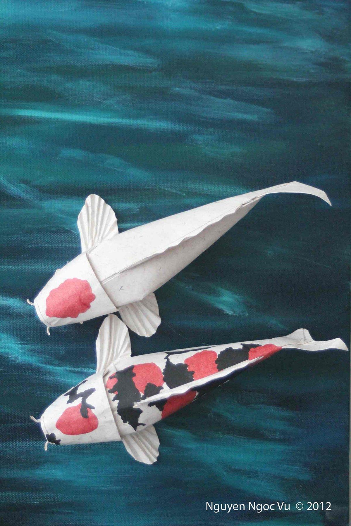Kuchibeni Kohaku Folded by Nguyen Ngoc Vu