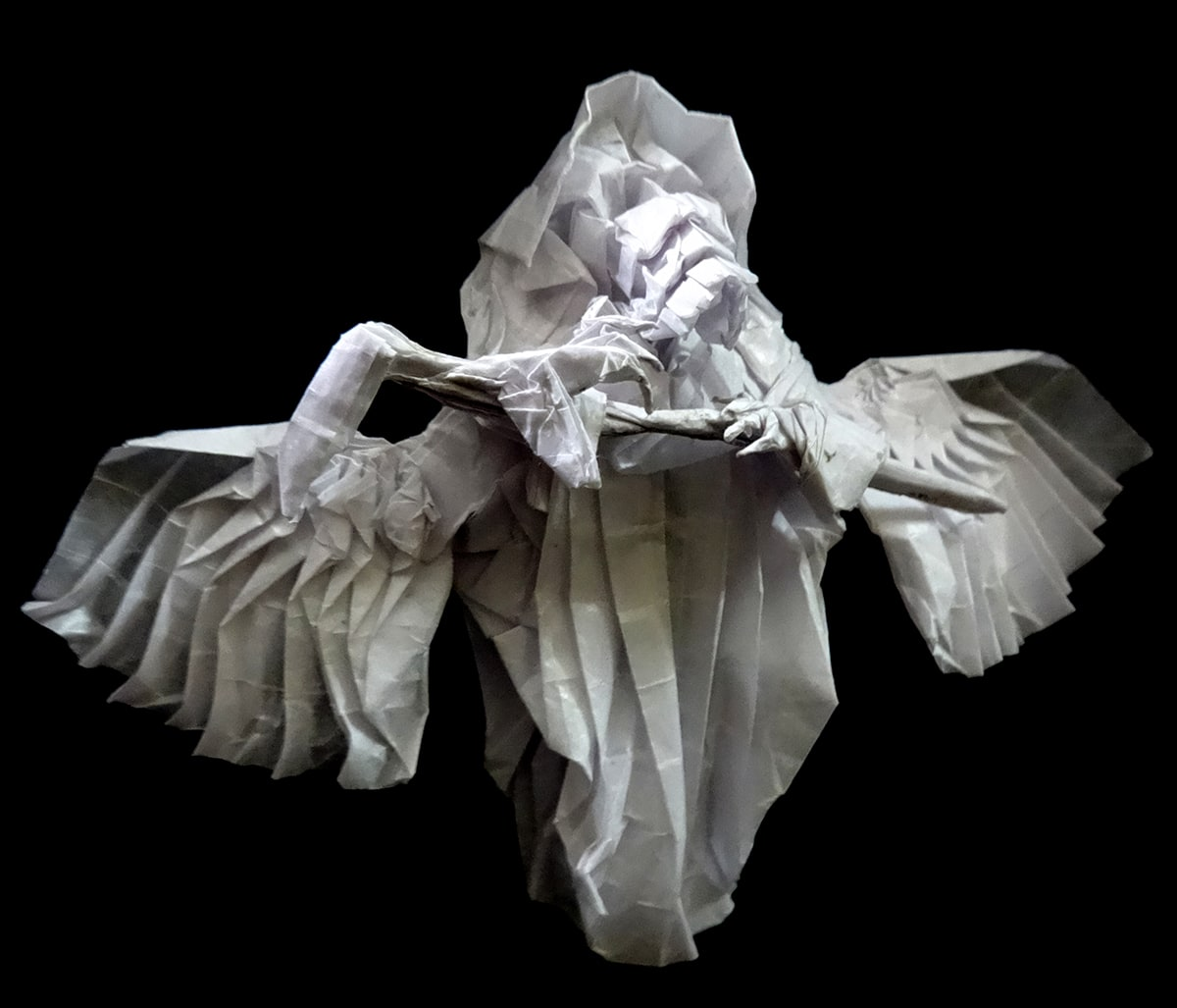 Little Reaper Designed and Folded by Neelesh Kumar