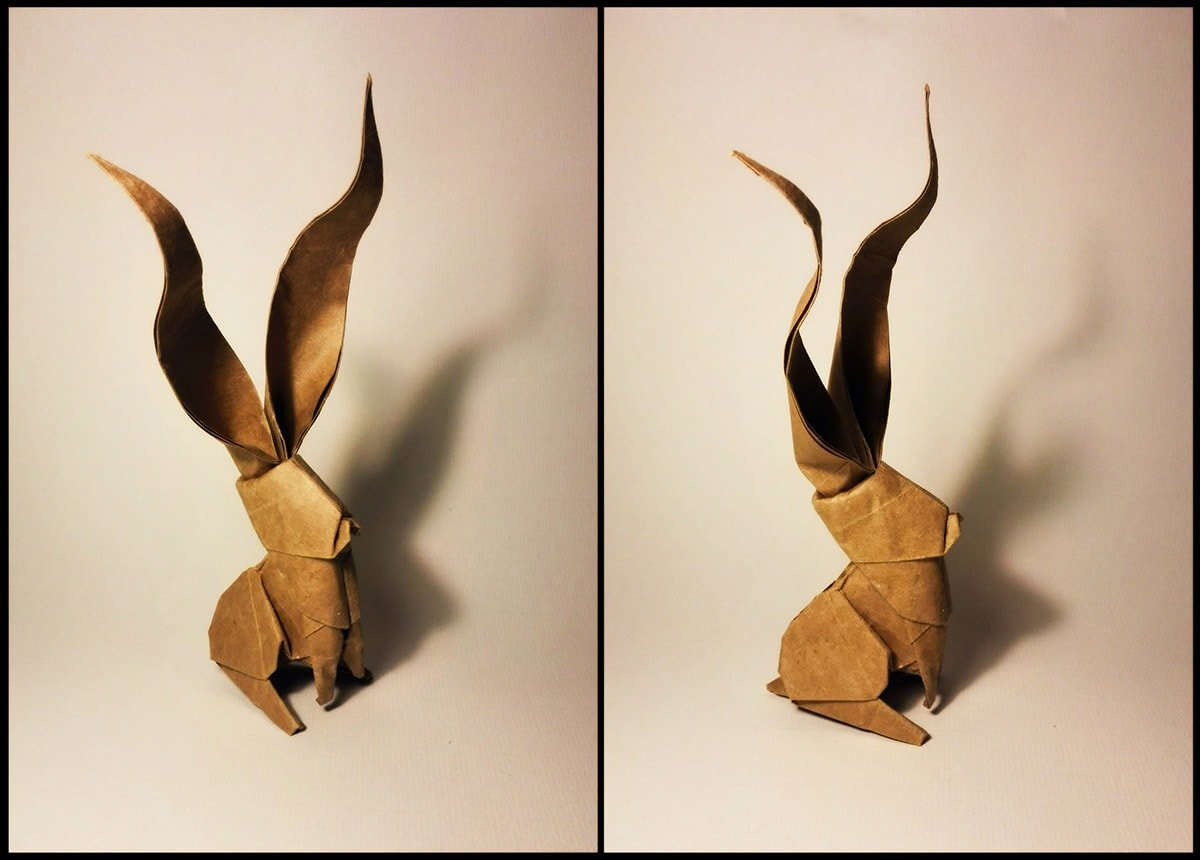 Long Ear Rabbit Papercraft